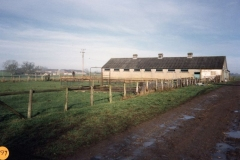 1989 Whistlow farm in background and barn.