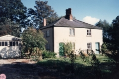 1988 Whistlow cottages. - demolished August 1992.