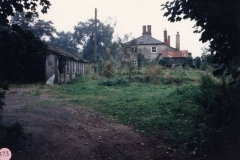 1988 Whistlow cottages - site of Archie Price's garage and repair works. Before that the site of 19th century brickworks.
