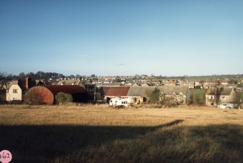 December 1986 View from Church Lane looking north-west.