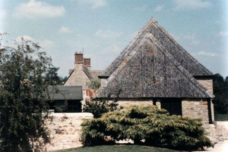 Village Farm Barn, now Langstone House, Church Lane.