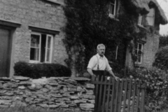1940s Turnpike cottages - Mr Matthews.
