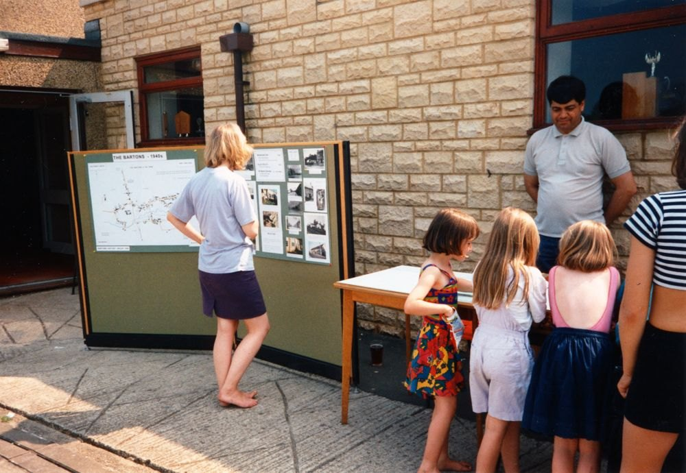 Saturday May 6th.  1995 - 50th anniversary of V.E. Day. 1940s Barton History Trail - 2.
