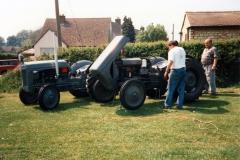 Saturday May 6th.  1995 - 50th anniversary of V.E. Day. Display of vehicles - 1.