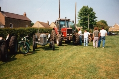 Saturday May 6th.  1995 - 50th anniversary of V.E. Day. Display of vehicles - 3.