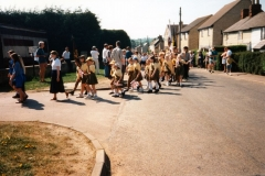7 May V.E. Day Parade. Entry to Playing Fields.