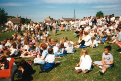 7 May V.E. Day Parade. Playing Fields.