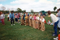 8 May V.E. Day Fete, exhibition and bonfire.