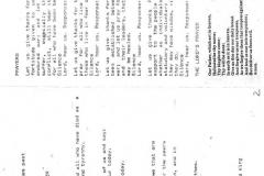 20 August 1995 V.J. Day Service sheet.