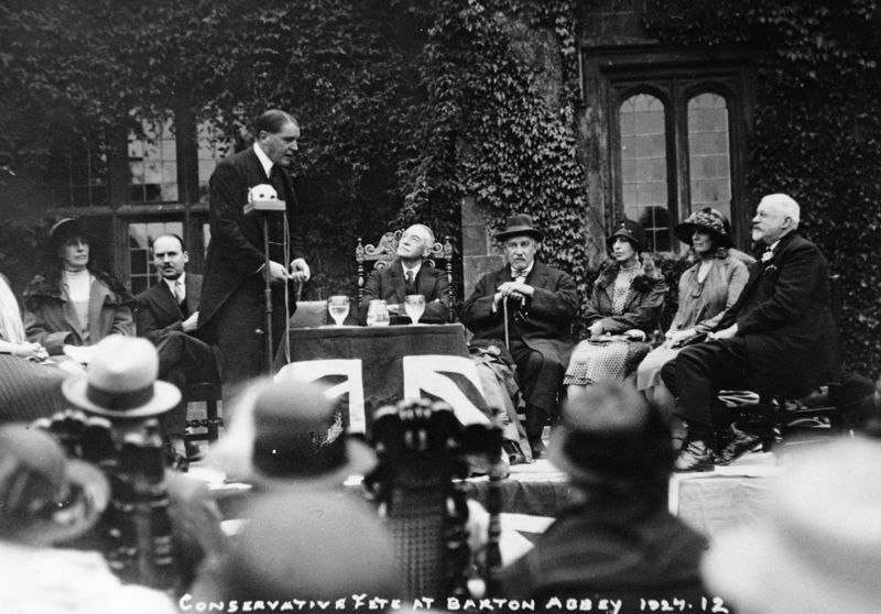 1927 Conservative fete at Barton Abbey.