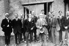1920s Back row l to r: James Hurst, Albert Paine, George Hope, Ronnie Riach, George Stockford, James Canty. Front row: l to r: George Brooks, Solomon Stewart, William Hopes (Pop), Percy Grimsley, Charles Marsh.