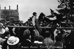 1912 Middle Barton Flower Show.