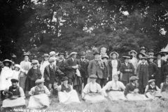 1914 Middle Barton Flower Show.