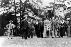 1910 Middle Barton Flower Show.
