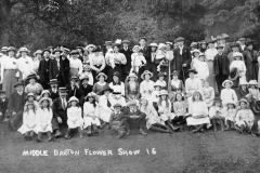 1915 Middle Barton Flower Show.