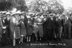 Steeple Barton church fete.