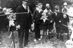 1928 Westcote Barton Flower Show.