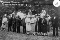1929 Westcote Barton Flower Show.