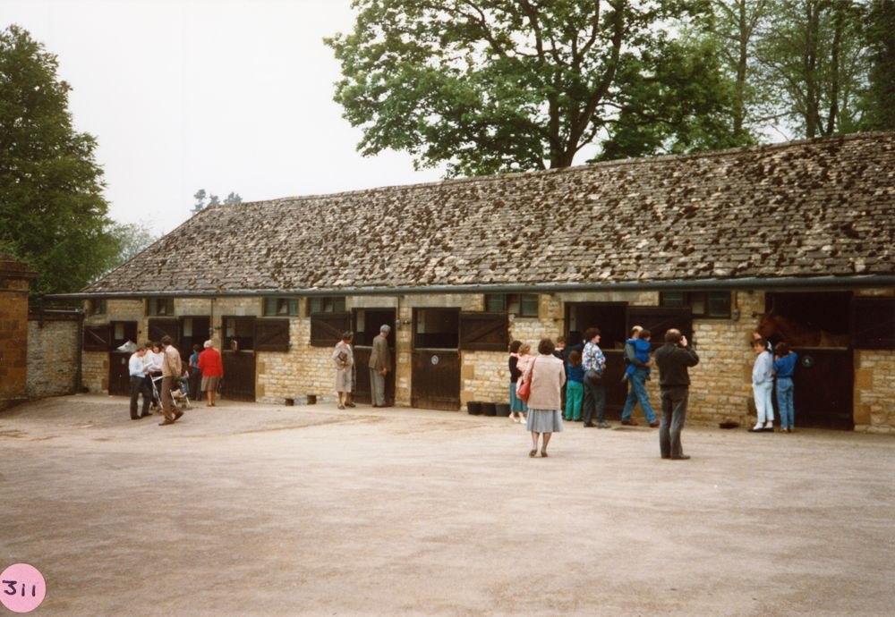 8 May 1988 Barton Abbey Gardens open day.
