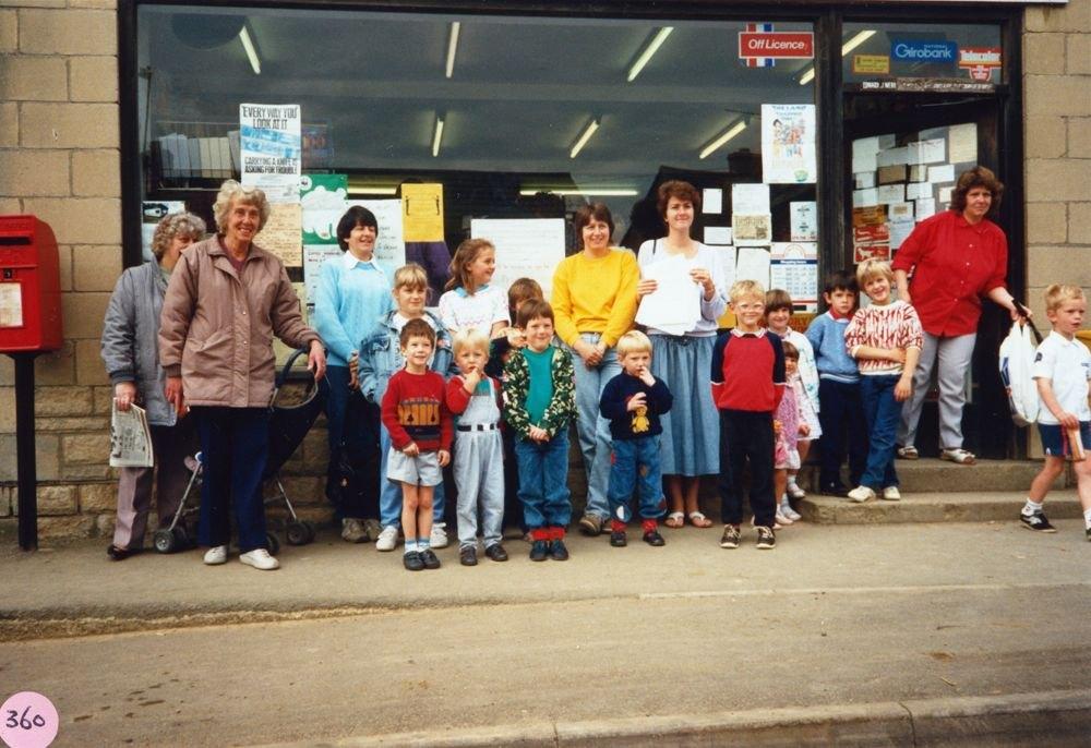 1988 Aircraft Petition.?, ?, Joyce Portlock, Jean Shirley, ?, Jenny Bochinek.