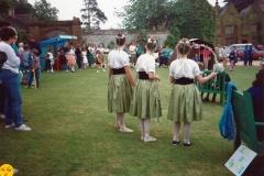 June 1989 Pupils of the Middle Barton Ballet School.