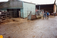 April 1989 Open afternoon at Manor Farm, Westcote Barton.