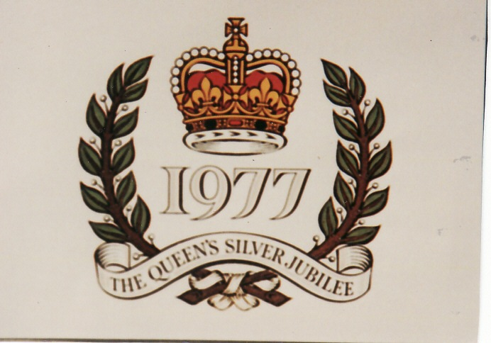 1977 The Queen's Silver Jubilee - Logo.