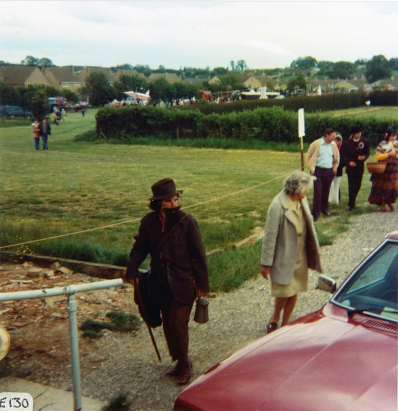 June 7 1977 Silver Jubilee procession - Mary Wood.