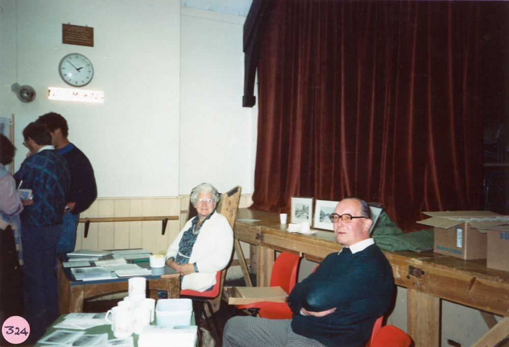July 9 1988 Alice Marshall Hall Centenary. Madge Byford and Charlie Hazell.