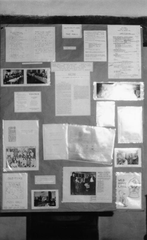 July 9 1988 Alice Marshall Hall Centenary. Display Boards.