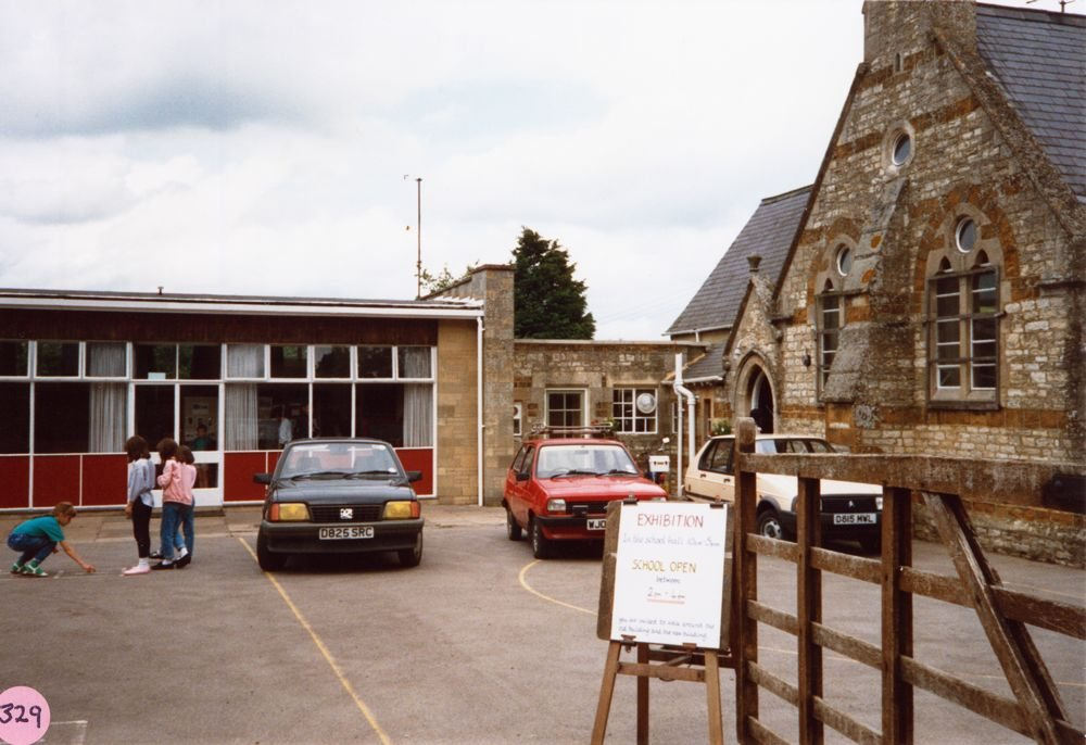 July 9 1988 Middle Barton Primary School Exhibition.