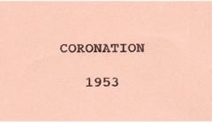 1953 Coronation.