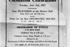 June 2 1953 The Bartons Coronation Celebrations.