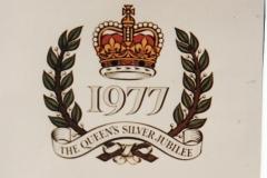 1977 The Queen's Silver Jubilee - Logo.