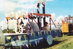 June 7 1977 Floats in the Silver Jubilee procession.
