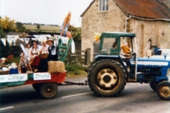 June 7 1977 Floats in the Silver Jubilee procession. WI float.