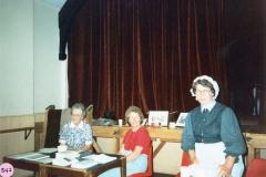 July 9 1988 Alice Marshall Hall Centenary. Pip Phipps, Ann Horwood and Margaret Stewart.