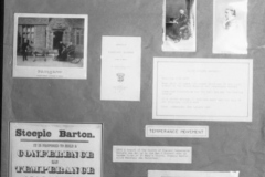 July 9 1988 Alice Marshall Hall Centenary. Display Boards.