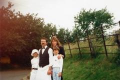 July 9 1988 Kelly, Robert, Teresa and Michael Webb.