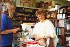 July 9 1988 Ann Wilcox and Carol Stewart at Webbs stores.
