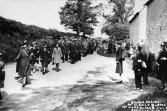 June 1941 Church Parades at Church Farm. The Home Guard and Civil Defence.