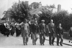 March past the Carpenters Arms.