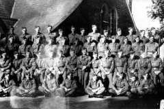 WW II Home Guard, not all from Middle Barton.