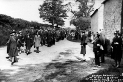 June 1941 Church Parades at Church Farm. The Home Guard and Civil Defence.