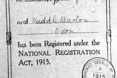 1915 George Henry Kirby - National Registration.