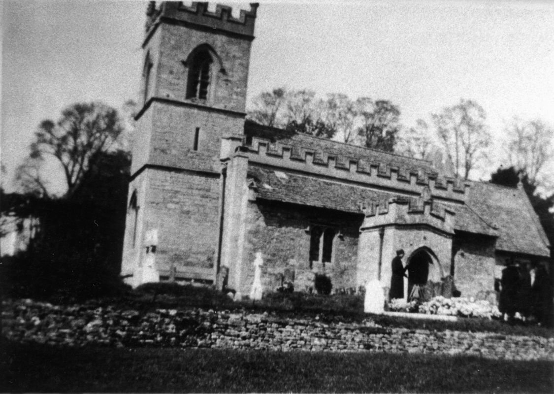 1930 Burial of Ralph Prior.