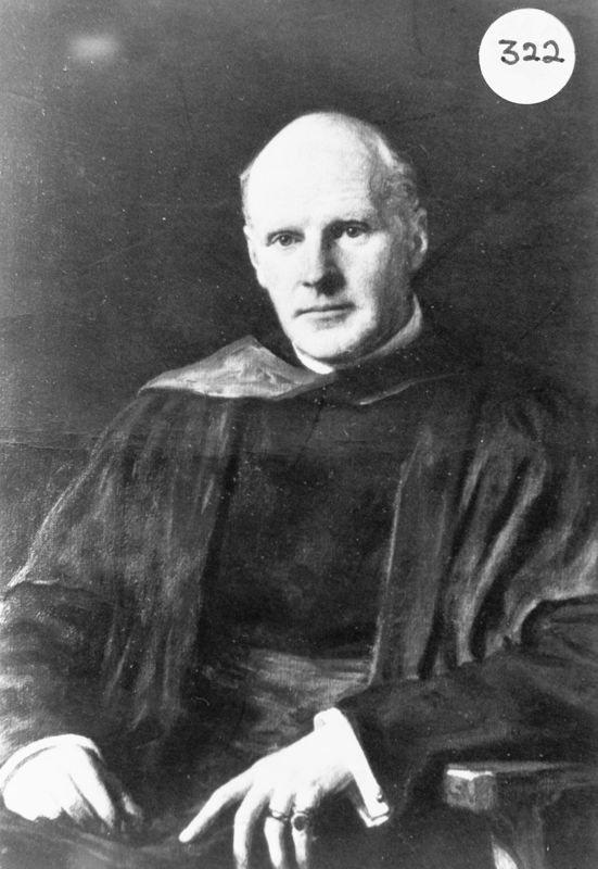 Rector 1921-1929 Canon William Alexander Carroll.