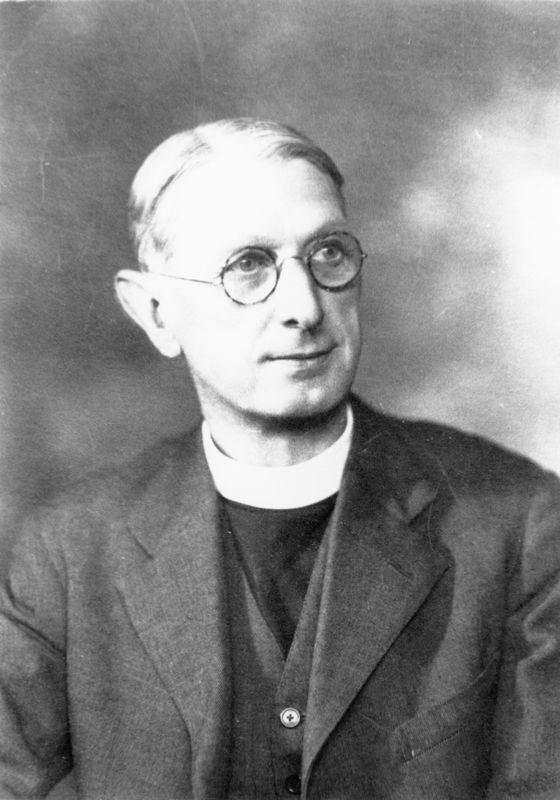 Rector 1929-1938 Reverend Charles H. Stuart Gmelin.