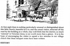 Westcote Barton church guide.