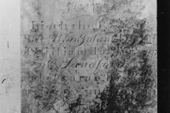 Tower inscription: Here Lieth the body of SARAH an Infant Daugr of William Taylor Esq of Sandford and of Sarah his Wife who died Anno Domini 1746.